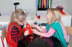 2 barn i förskolan