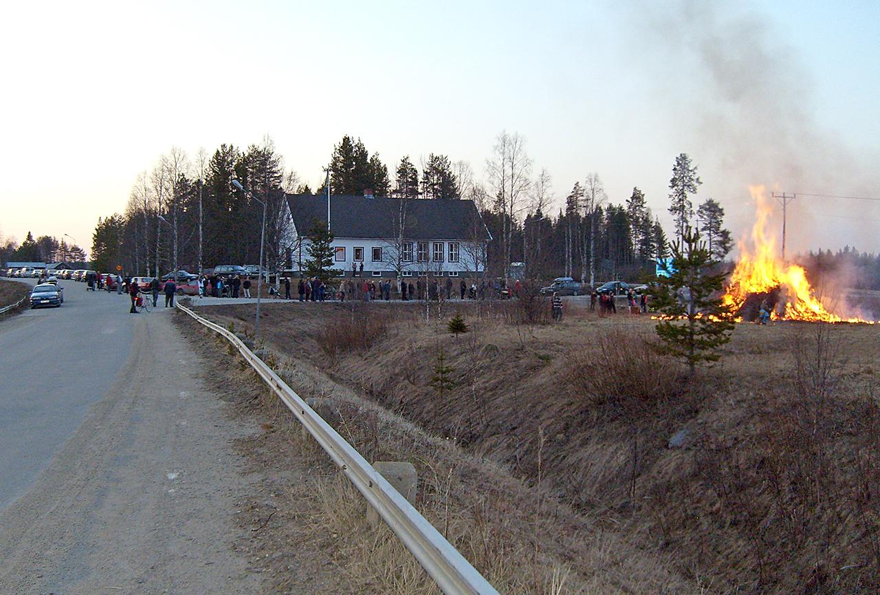 Valborgsbrasan 2008