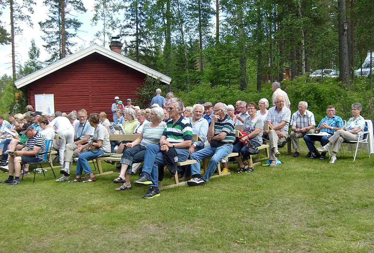 Välbesökt hembygdsdag i Jämteböle 2013